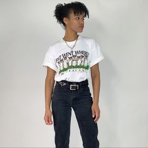 1990's Vintage New Zealand Sheep Graphic T-Shirt